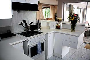 The well-appointed kitchen