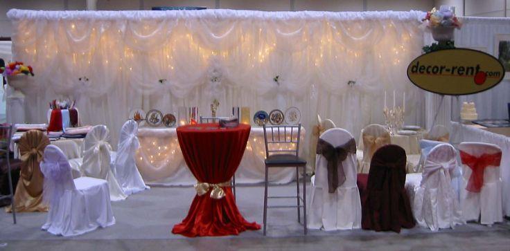 Wedding Show in Toronto.  www.decor-rent.com booth.