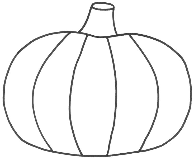 pumpkin coloring page gallery - Halloween Pumpkin Pictures To Color
