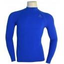 Camiseta Termica Manga Larga Azul Lurbel. Consiguela aqui: http://www.deportesmena.com/camisetas-termicas#