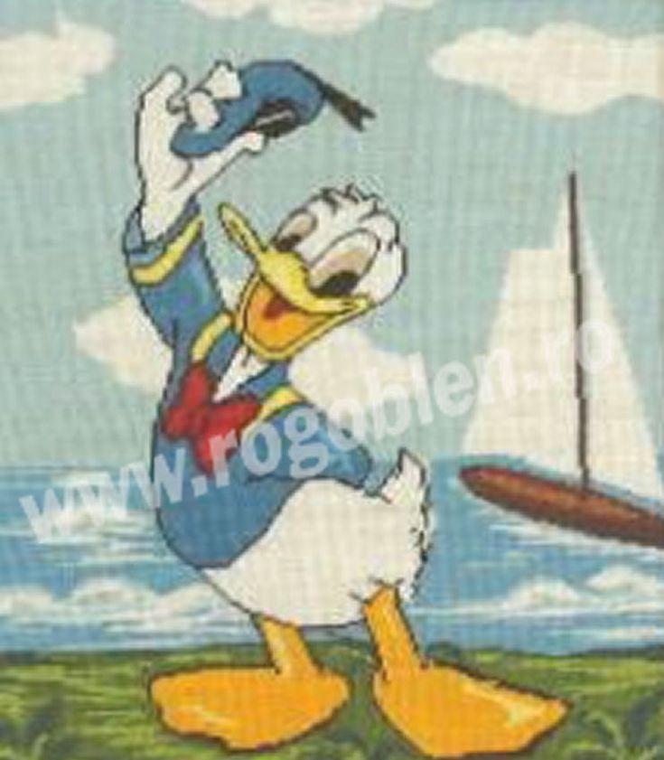 Cod produs 10.90 Donald, marinar Culori: 17 Dimensiune: 19 x 23cm Pret: 43.15 lei