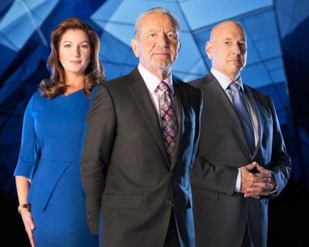 The new Apprentice team Karren Brady, Alan Sugar & Claude Littner