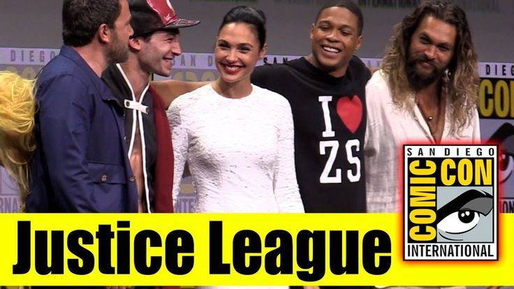 JUSTICE LEAGUE | Comic Con 2017 Full Panel (Gal Gadot, Ben Affleck, Jason Momoa, Ezra Miller, Ray)