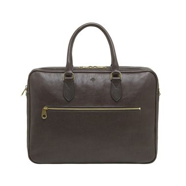 Mulberry - Heathcliffe in Chocolate Natural Leather