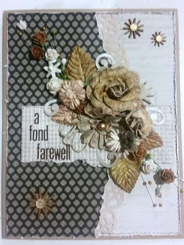 I designed this card for one of my colleagues at work who left to return to England.