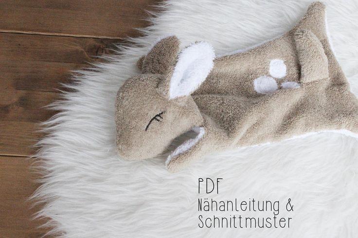 E-Book+Reh+Emmi+-+Schnuffeltuch+von+Waldgefährten+auf+DaWanda.com