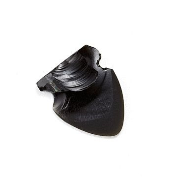 Look what I found at UncommonGoods: Obsidian Arrowhead Guitar Pick for $20 #uncommongoods