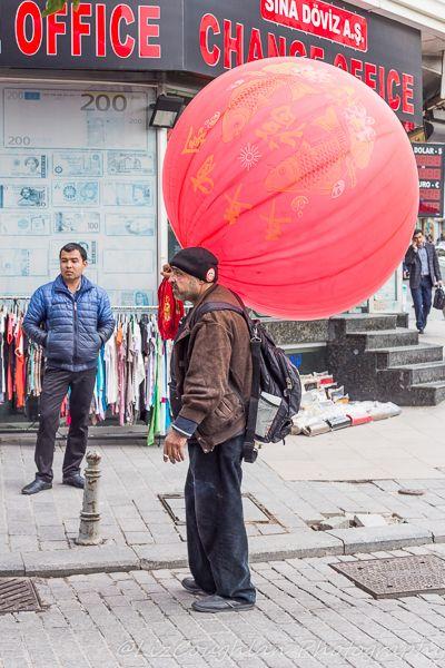 Balloon Seller Aksaray, Istanbul