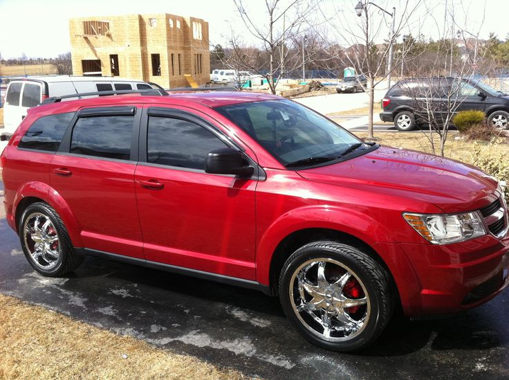 Dodge journey On 22'S That's So Awesome :-) | Dub&Coustom ...