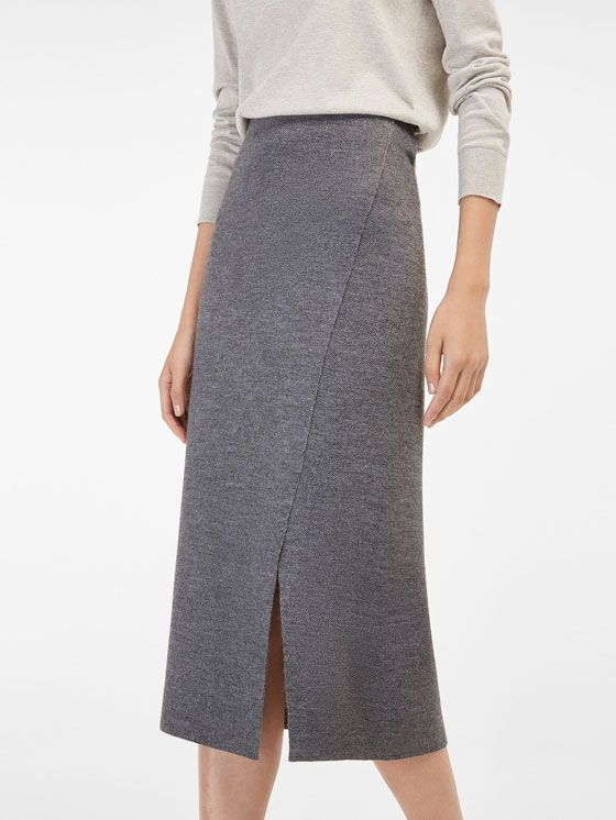 Women's FW 2016 skirts at Massimo Dutti, must-haves to complete your wardrobe. Discover the new collection of maxi, midi, pencil, denim or pleated skirts.