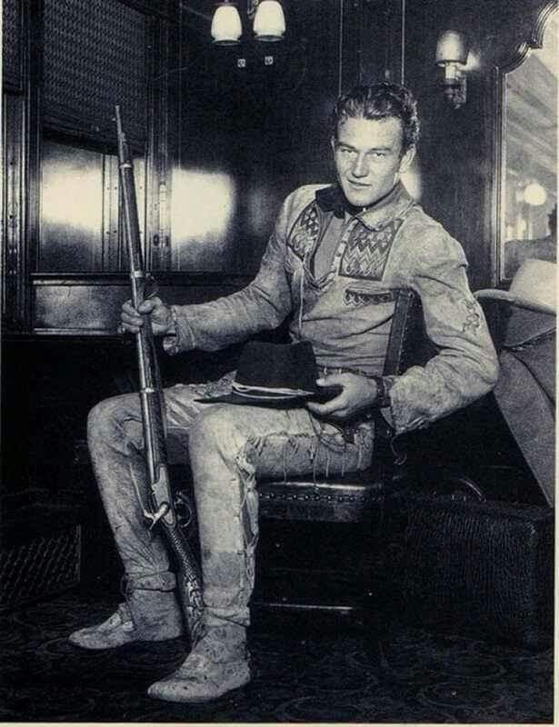 A  young John Wayne                                                                                                                                                                                 More