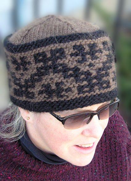 Crosspatch by Elizabeth Morrison FREE PATTERN from Knitty: Summer 2006
