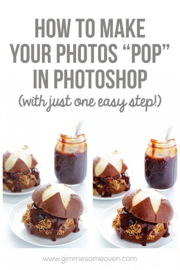 "How To Make Your Photos ""Pop"" On Photoshop -- with just 1 easy step! 