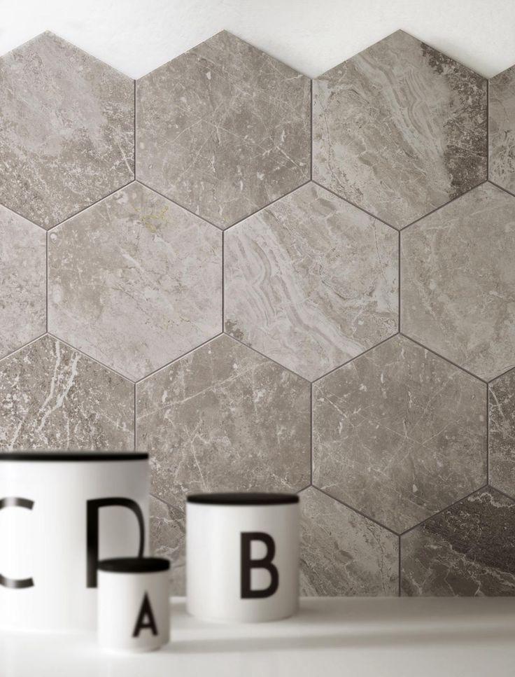 #Ragno #Bistrot Crux Grey 21x18,2 cm R4TE | #Gres #marmo #21x18,2 | su #casaebagno.it a 28 Euro/mq | #piastrelle #ceramica #pavimento #rivestimento #bagno #cucina #esterno