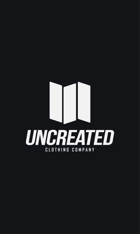 Uncreated Clothing. Brand logo. Skateboard, bmx clothing brand.  Логотипы одежды. Одежда Киев, Украина.