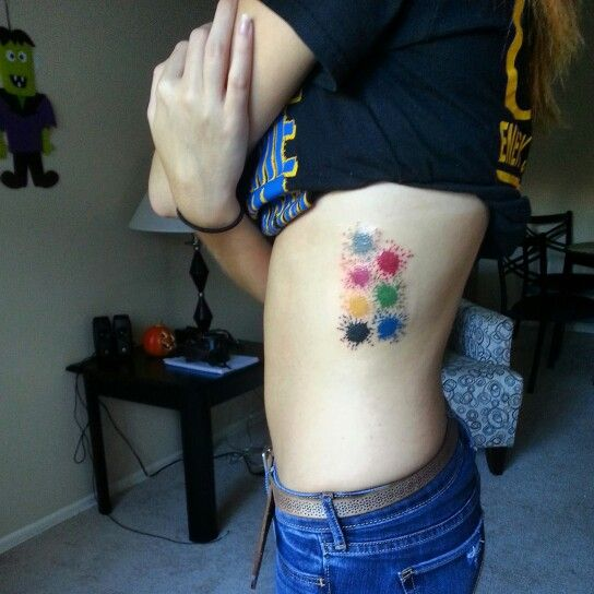 CMYK for my design background  RGB for my photography career #Tattoo #Colors #Design #Photography #GirlsWithTattoos