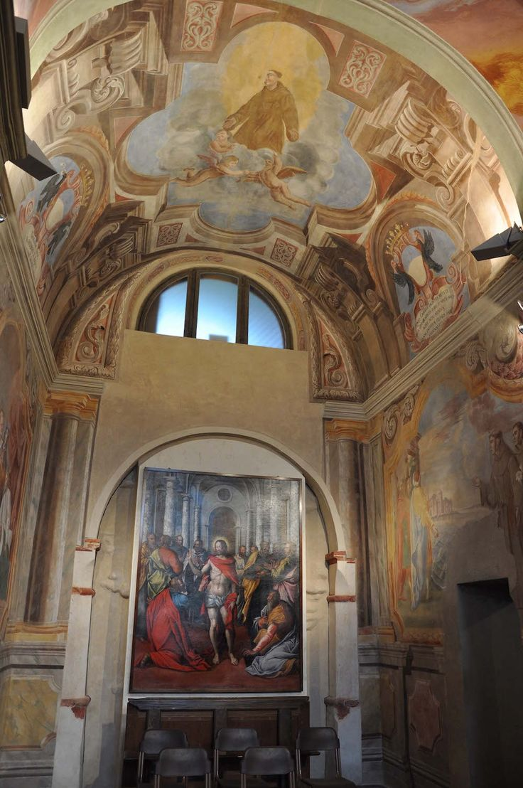 The chapel of the Armenian Martyrs in San Bernardino's church (XV-XVII c.) in Saluzzo - Cuneo - Piedmont - Italy after paintings conservation (2009-2011)