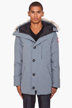 Canada Goose Grey Coyote Fur Hood Chateau Parka for men | SSENSE