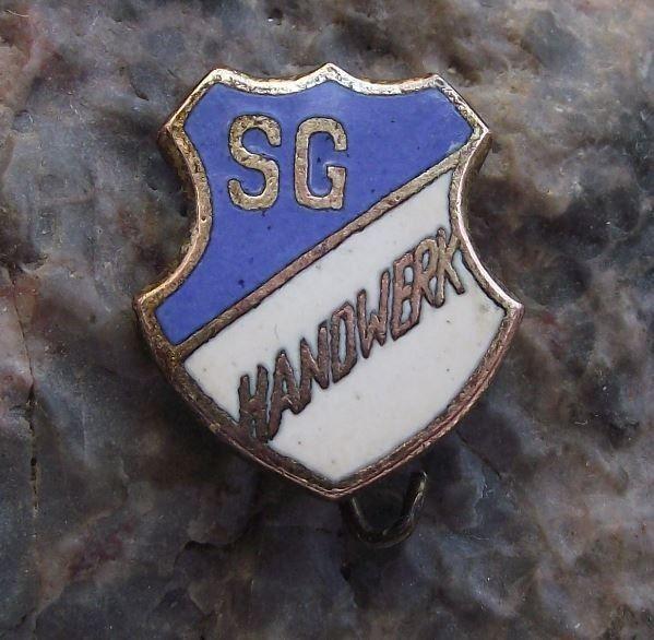 1950's SG Handwerk East Germany DDR GDR Football Soccer Team Pin Badge #Furstenfeld