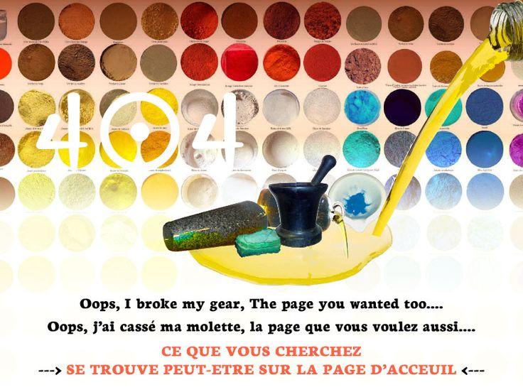 404 Webpage by David Damour