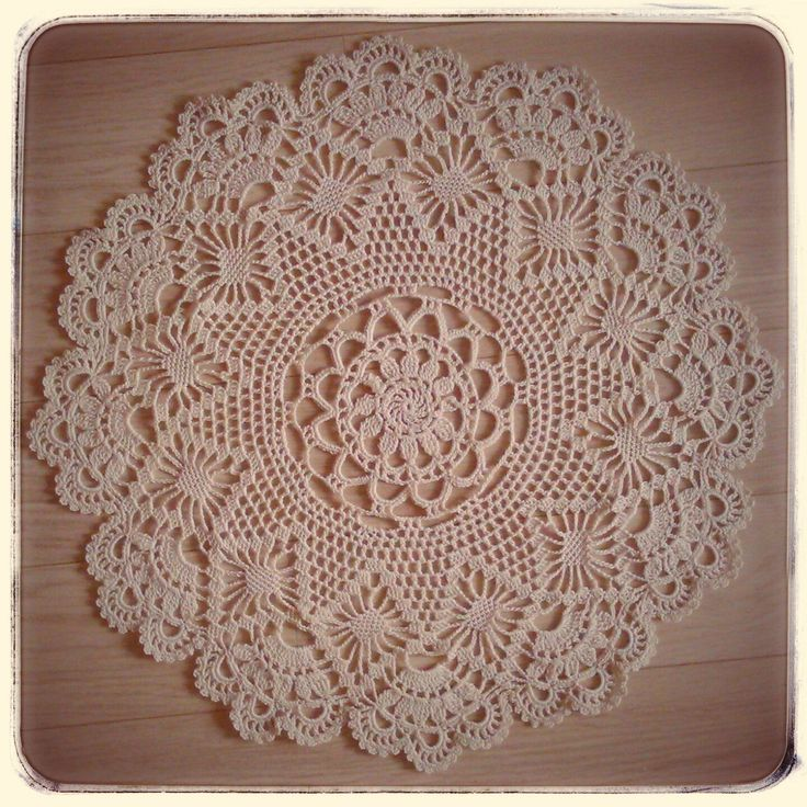Crochet handmade doilies by CrochetByJADEGoods on Etsy