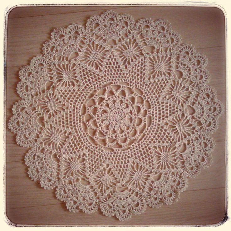 Crochet handmade doilies by CrochetByJADEGoods on Etsy