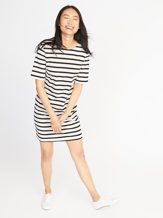 33331625b03be Ponte-Knit Shift Dress for Women | Old Navy | dylan & i | Dresses ...
