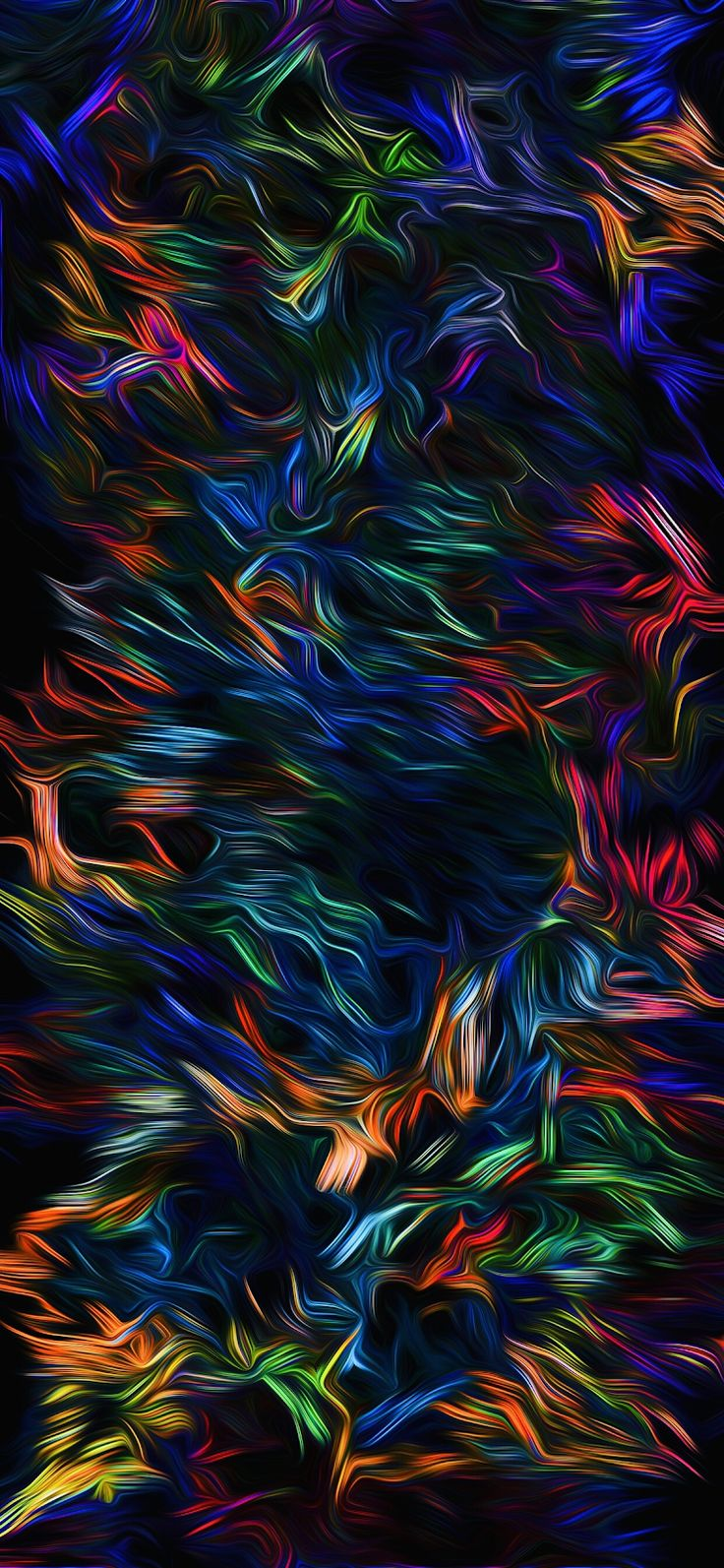 Abstracted ART (iPhone X/XS/XSMAX/XR) Абстрактные фоны