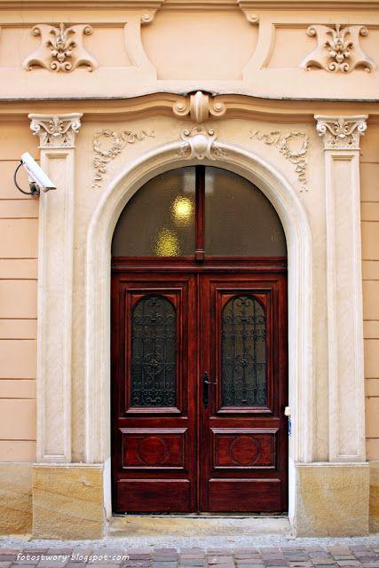 drzwi, door, Cracow, Poland