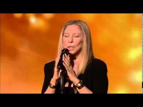 Barbra Streisand Avinu Malkeinu Live in Israel - YouTube