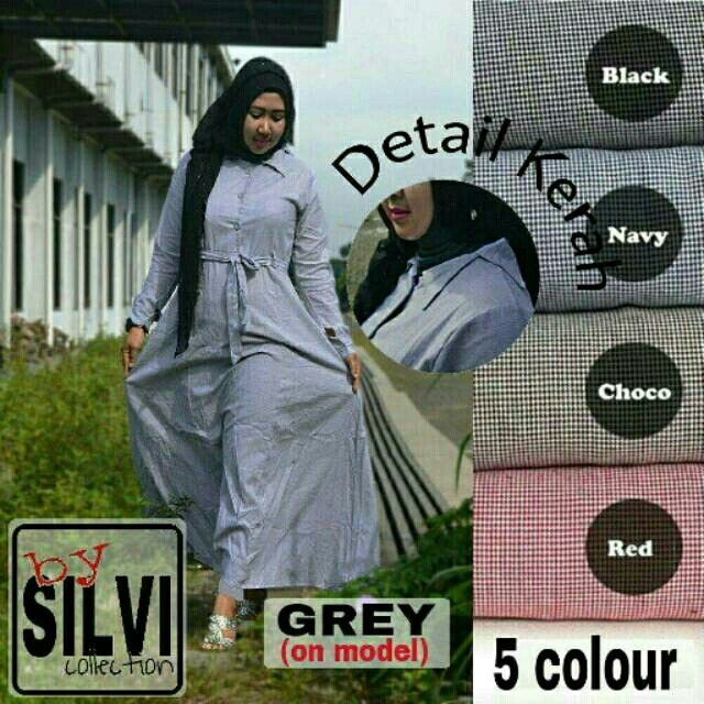 @110000 shofie maxi busui bahan katun yandet uk all size fit L besar.real pic ya