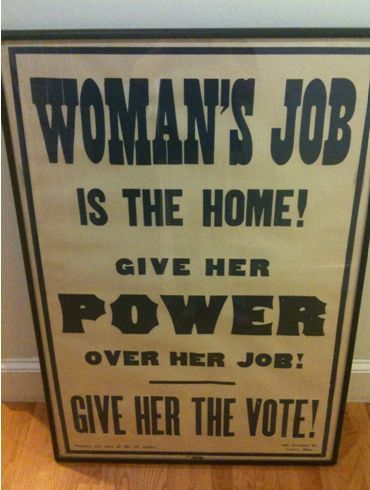 "Facets of the Women's Suffrage Movement » ""Give her the vote, but..."