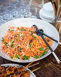 Moroccan Carrot Salad with Spicy Lemon Dressing Recipe on Food & Wine