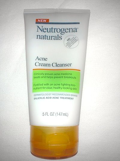 Review, Ingredients: Neutrogena Naturals Acne Cream Cleanser – Best Treatment For Dry Skin