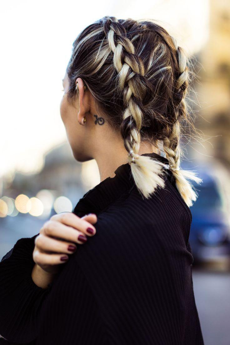 Hairdo Trends 2018 – boxer braids – street style -…