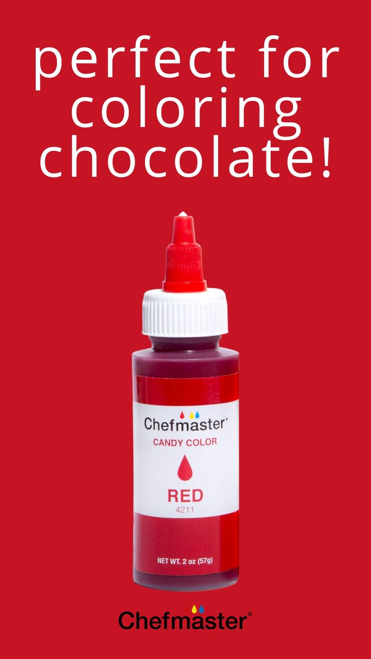 Oil-Based Food Coloring for Coloring Chocolate: An ...