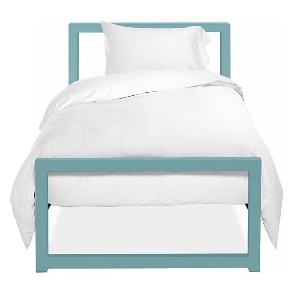 Piper Modern Steel Kids' Bed in Colors - Modern Beds - Modern Kids Furniture - Room & Board