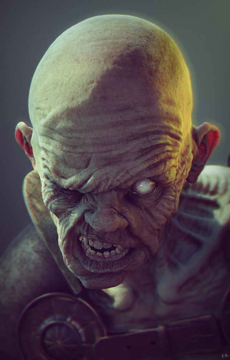 Ghouls are scavenger creatures that live in graveyards and traditionally feed on the flesh and blood of the dead.