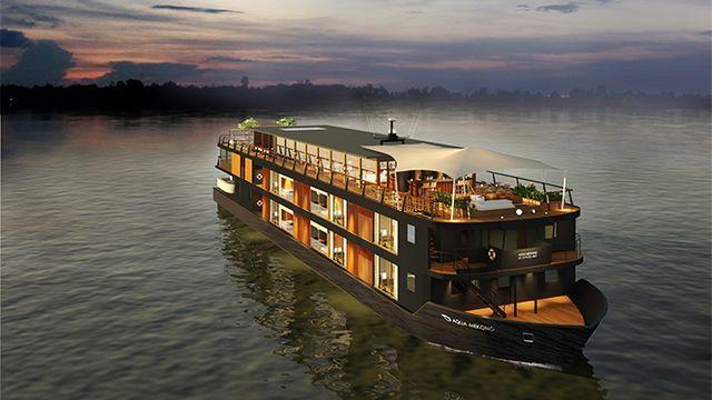 メコン川でラグジュアリーな船旅を ― 豪華客船アクア・メコンが就航・予約受付中 - エキサイトニュース(1/2)