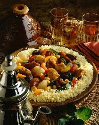 THE VIEW FROM FEZ: Moroccan couscous - the traditional way