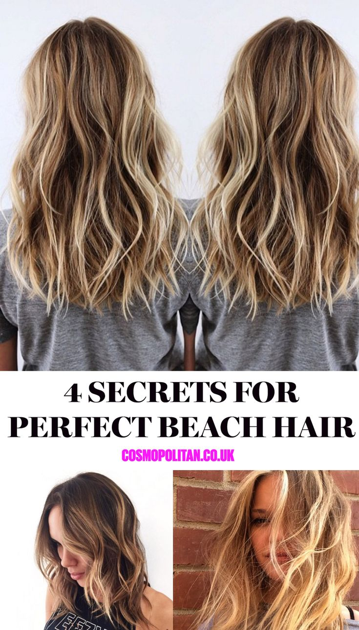 Everyone wants wavy beach hair, but how do you do it when you're not on holiday? Follow these 4 tips for healthy beachy waves