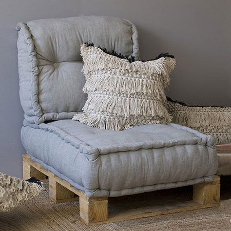 homedzine diy projects using the french tufting method and a wooden pallet