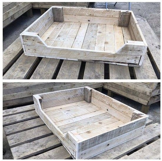 Ruggy Diy Dog Bed: 100+ Diy Pallet Wooden Dog Bed Projects