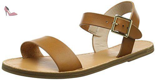 New Look  Fifi Clean, Sandales à talon femme - marron - Marron (Beige), 38 - Chaussures new look (*Partner-Link)