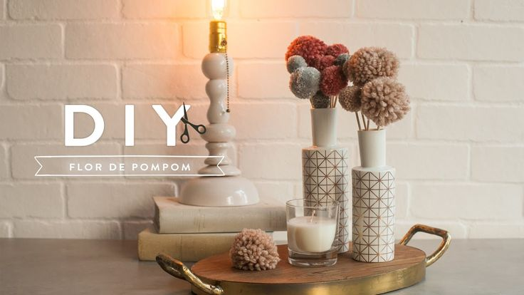 DIY Flor de Pompom | WESTWING