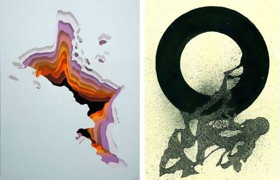 Juxtapoz Magazine - 1010 & 108 = 1118 Show @ Galerie SOON, Bern
