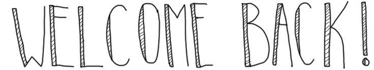 Hallo! Back in blogging buisness