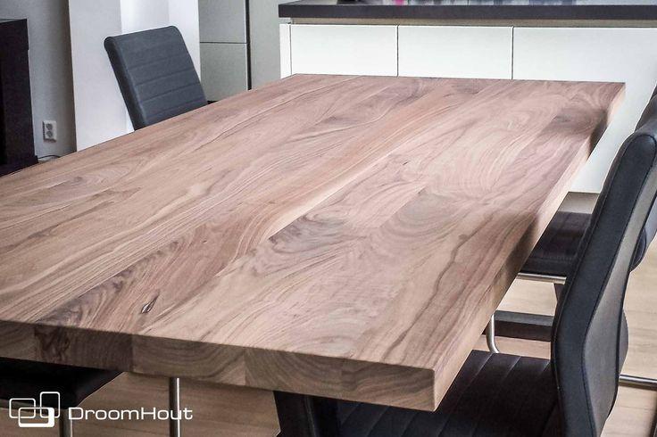 Droomhout | Tafelblad notenhout