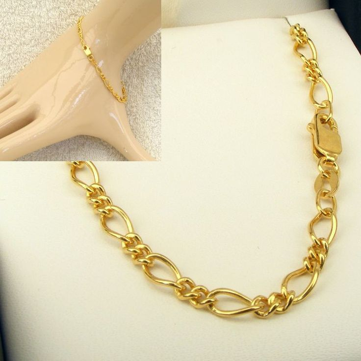 Buy 9ct Gold Oval Figaro 12 Chain (MM-F12-0035) online at Chain Me Up
