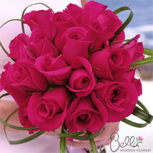 Hot Pink Wedding Flowers Pictures   Wedding Flower Ideas